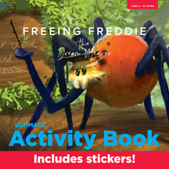 FREEING FREDDIE THE DREAMWEAVER - ULTIMATE ACTIVITY BOOK