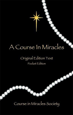 COURSE IN MIRACLES Original Edition  - Pocket Edition