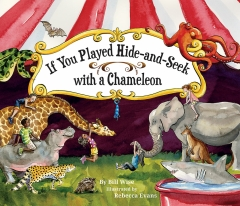 IF YOU PLAYED HIDE-AND-SEEK WITH A CHAMELEON HB