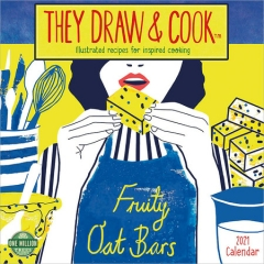 THEY DRAW & COOK CALENDAR 2021