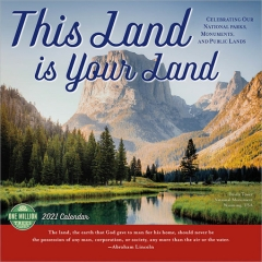 THIS LAND IS YOUR LAND CALENDAR 2021