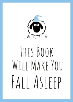 THIS BOOK WILL MAKE YOU FALL ASLEEP HB