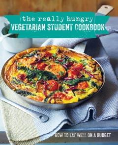 REALLY HUNGRY VEGETARIAN STUDENT COOKBOOK HB