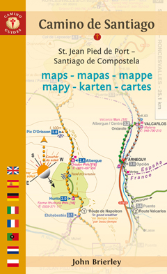 CAMINO DE SANTIAGO MAPS Tenth Edition