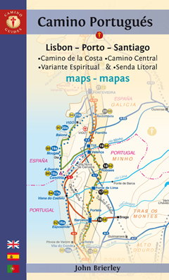 CAMINO PORTUGUÉS MAPS Seventh Edition