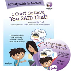 I CAN'T BELIEVE YOU SAID THAT! Activity Guide For Teachers