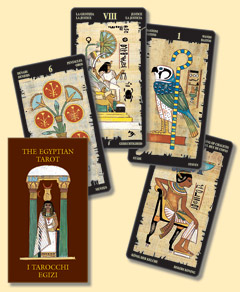 EGYPTIAN TAROT MD04 Miniature Deck